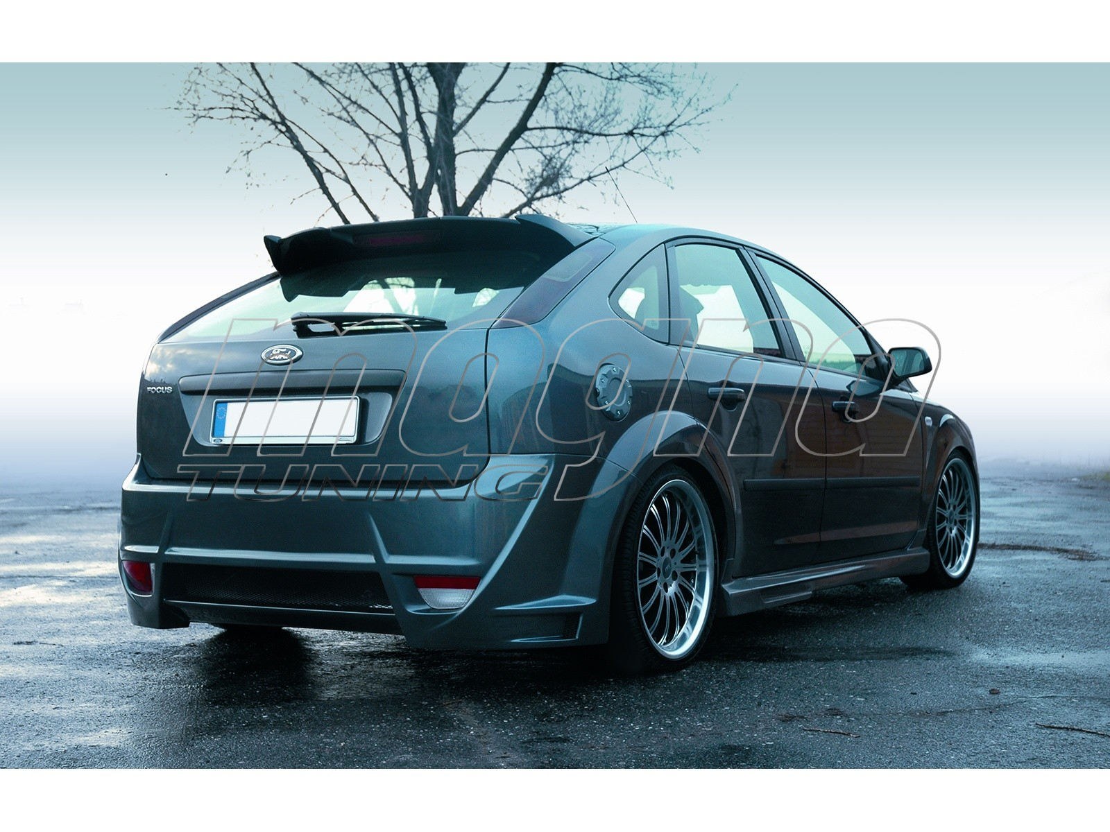 ford focus 2 trophy rear wing. Black Bedroom Furniture Sets. Home Design Ideas