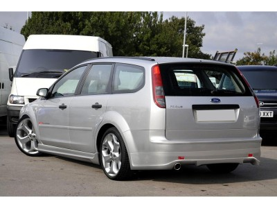 Ford Focus 2 Variant J-Style Rear Bumper Extension
