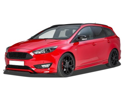 Ford Focus 3 Facelift Crono Front Bumper Extension