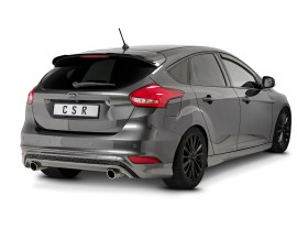 Ford Focus 3 Facelift Cyber Rear Wing Extension