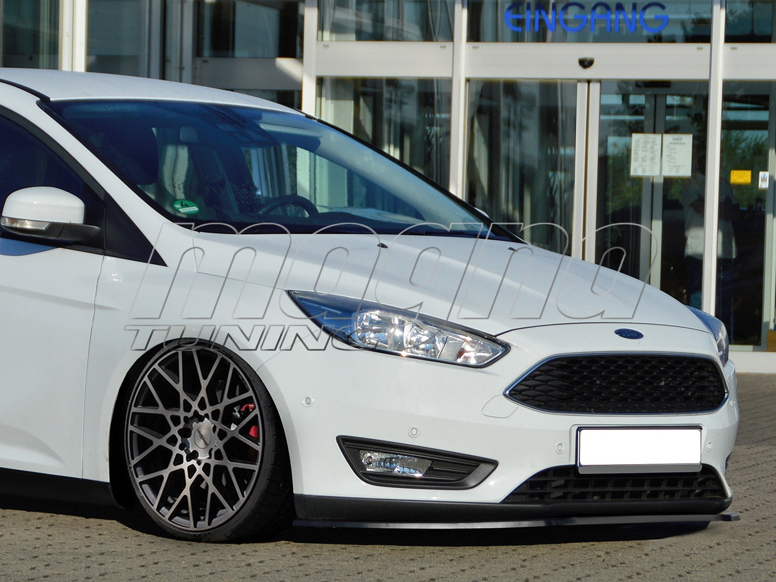 Ford Focus 3 Facelift Iris Front Bumper Extension