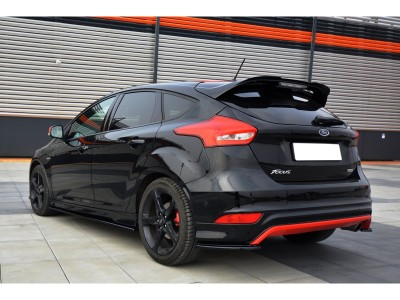 Ford Focus 3 Facelift MX Rear Wing Extension