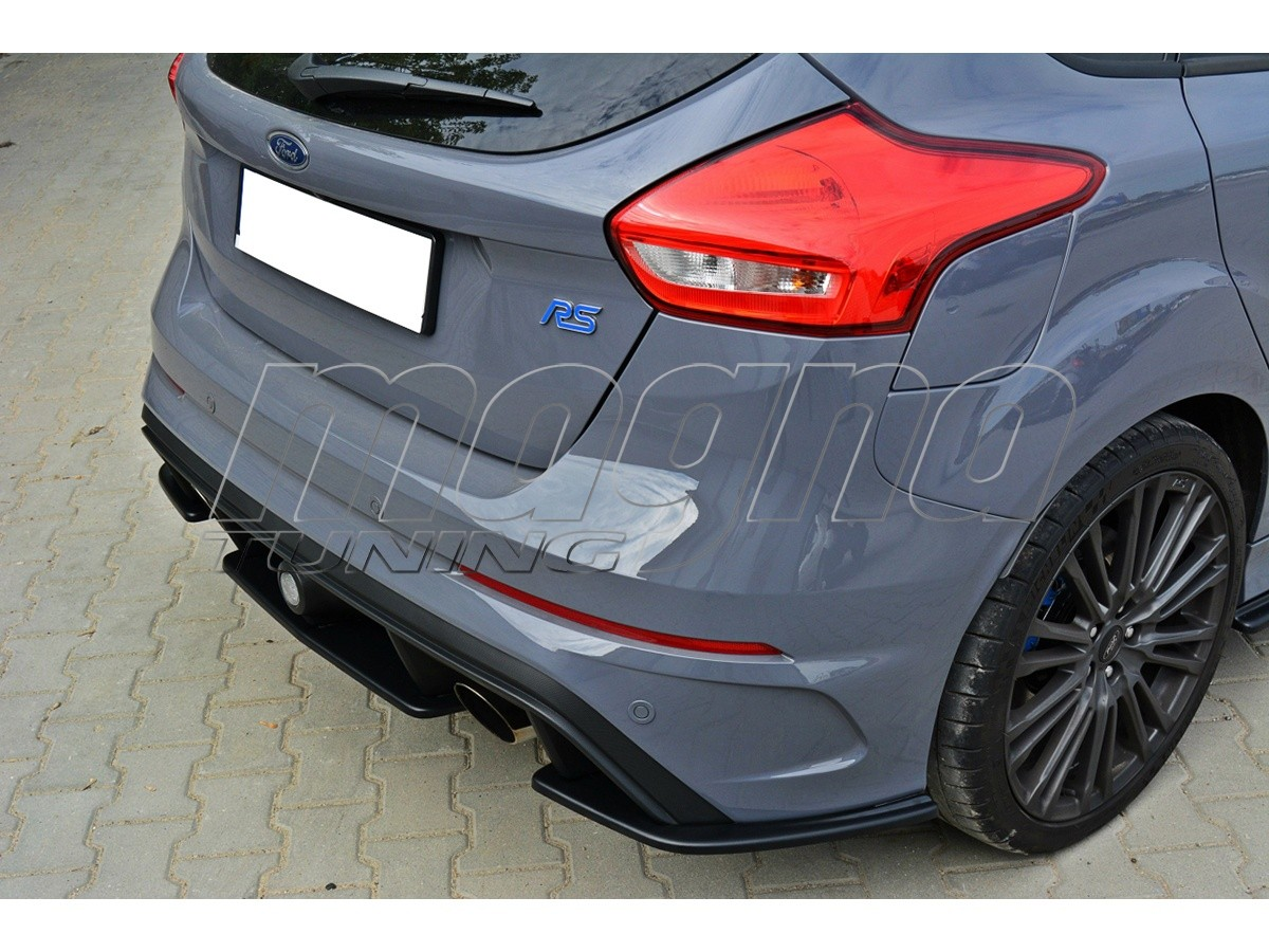 ford focus 3 rs master rear bumper extension. Black Bedroom Furniture Sets. Home Design Ideas
