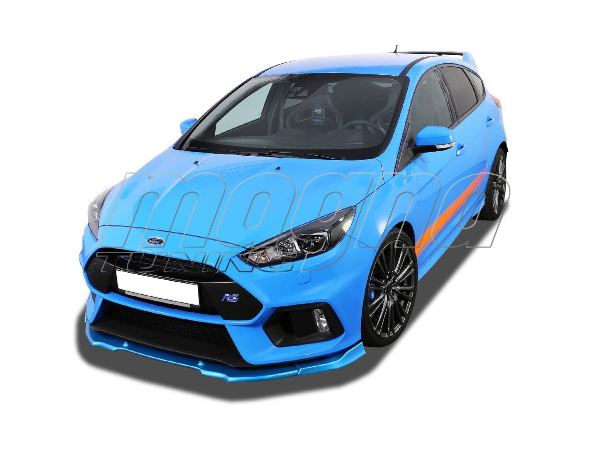 ford focus 3 rs verus x front bumper extension. Black Bedroom Furniture Sets. Home Design Ideas