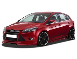 Ford Focus 3 RX Front Bumper Extension