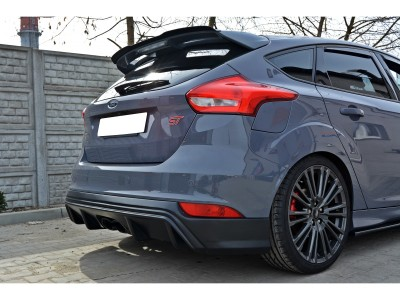 Ford Focus 3 ST Facelift Extensie Bara Spate RS-Look