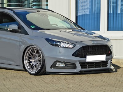 Ford Focus 3 ST Facelift Invido Front Bumper Extension