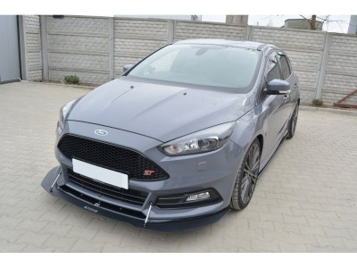 Ford Focus 3 ST Facelift M2-RS Front Bumper Extension