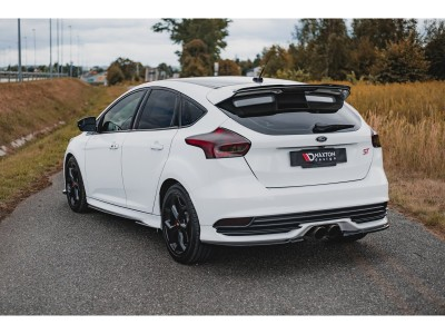 Ford Focus 3 ST Facelift Meteor Rear Bumper Extensions