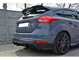 Ford Focus 3 ST Facelift RS-Look Rear Bumper Extension