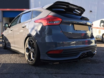 Ford Focus 3 ST Facelift Raceline Rear Bumper Extension