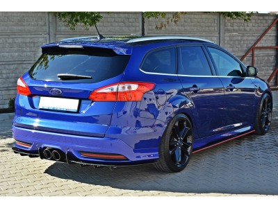 Ford Focus 3 ST Racer Rear Bumper Extension