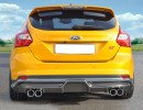 Ford Focus 3 ST V2 Rear Bumper Extension