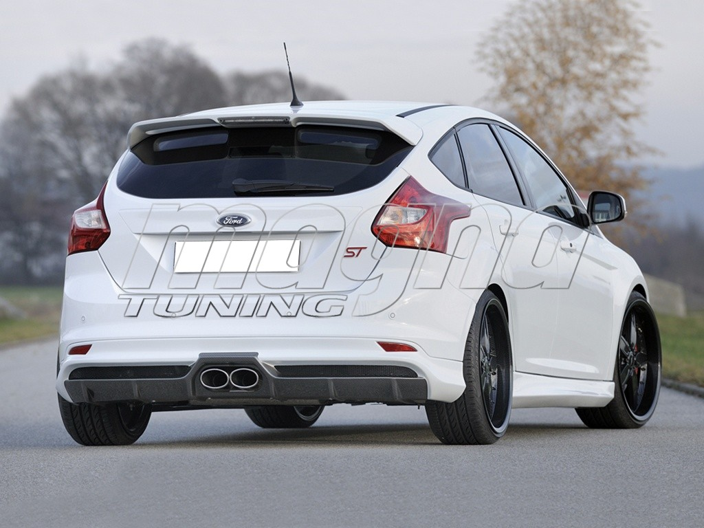 ford focus 3 st vortex rear bumper extension. Black Bedroom Furniture Sets. Home Design Ideas