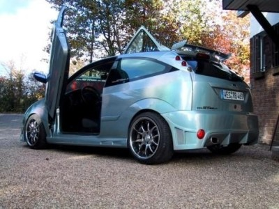 Ford Focus NT Rear Wing