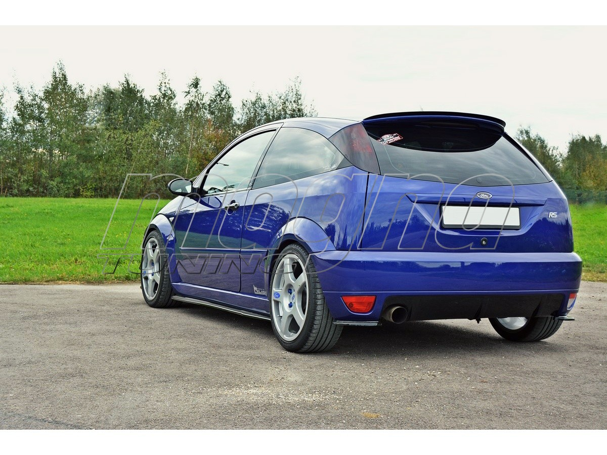 ford focus rs master rear bumper extensions. Black Bedroom Furniture Sets. Home Design Ideas