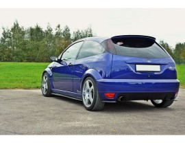 Ford Focus RS Master Rear Bumper Extensions