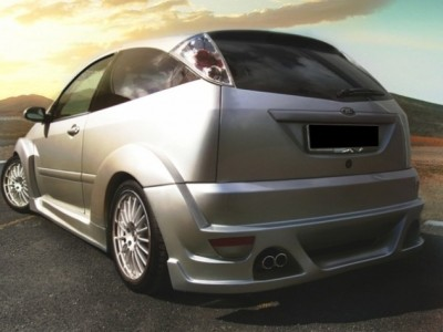 Ford Focus Zeus Side Skirts