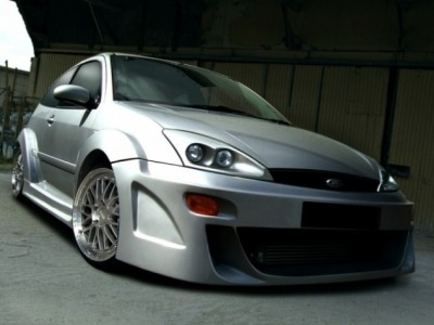 Ford Focus Zeus Wide Front Wheel Arch Extensions