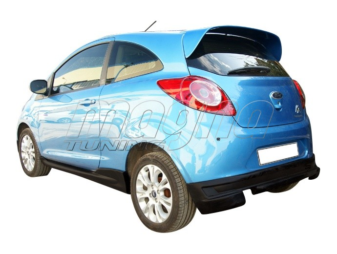 ford ka mk2 sport rear bumper extension. Black Bedroom Furniture Sets. Home Design Ideas