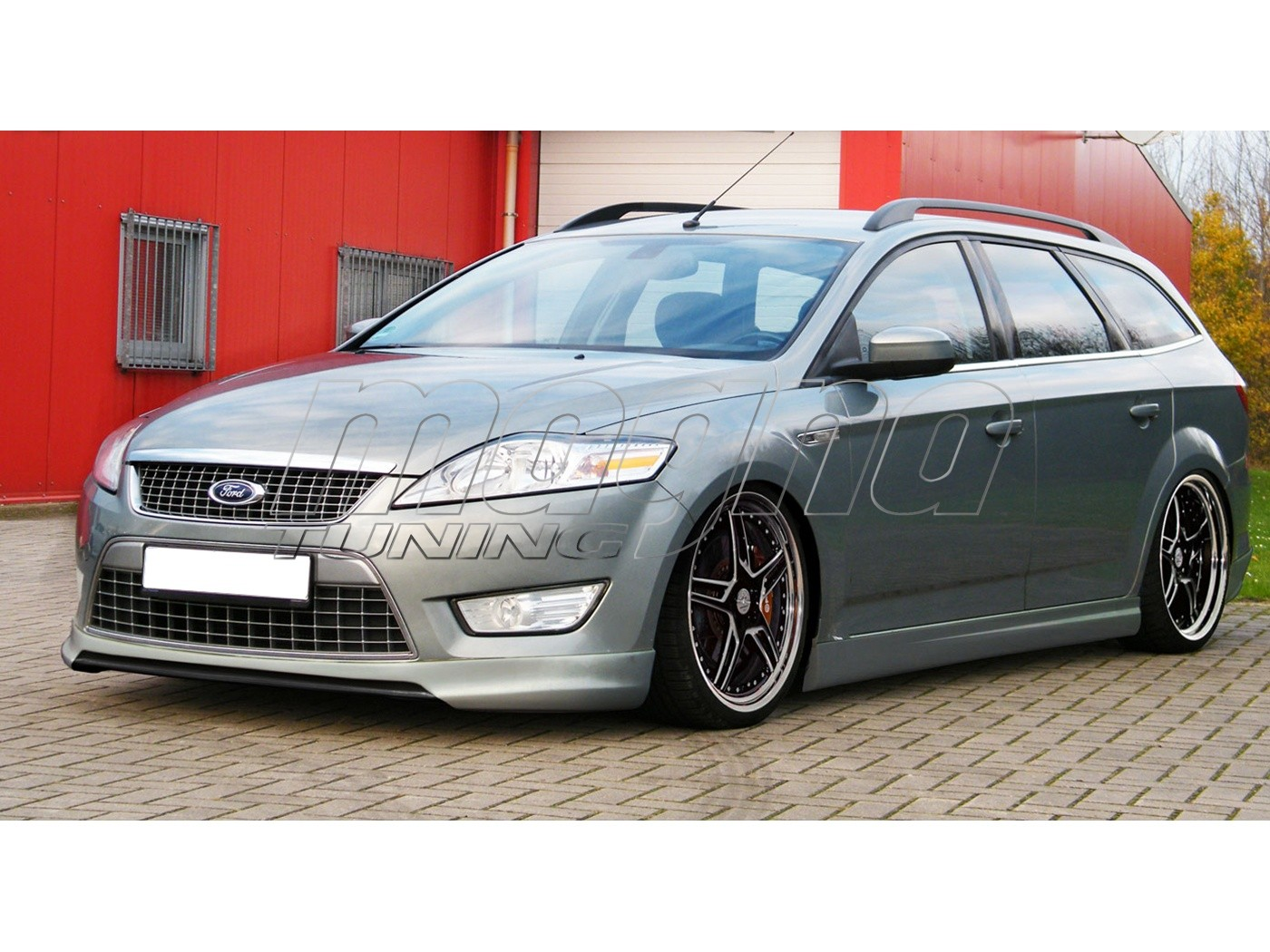 ford mondeo mk4 intenso front bumper extension. Black Bedroom Furniture Sets. Home Design Ideas