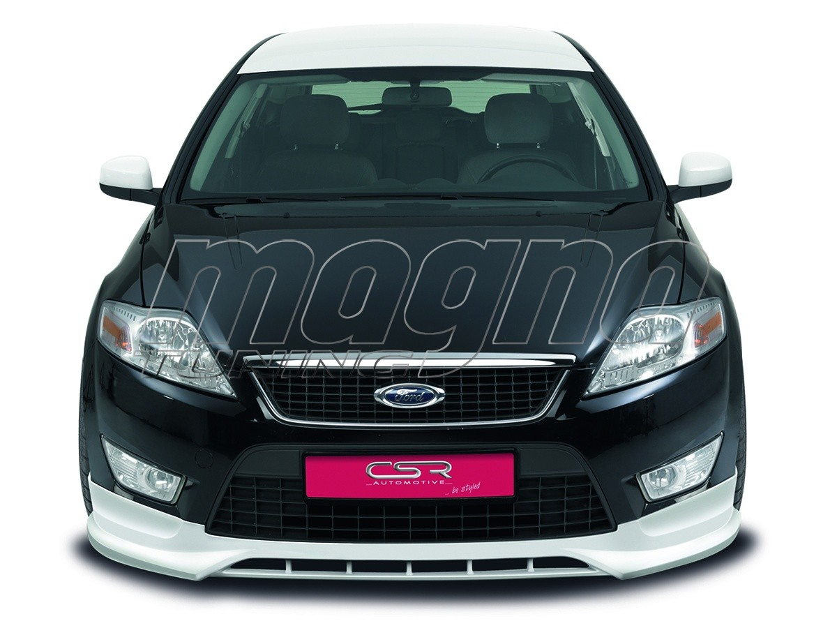 ford mondeo mk4 xl line front bumper extension. Black Bedroom Furniture Sets. Home Design Ideas