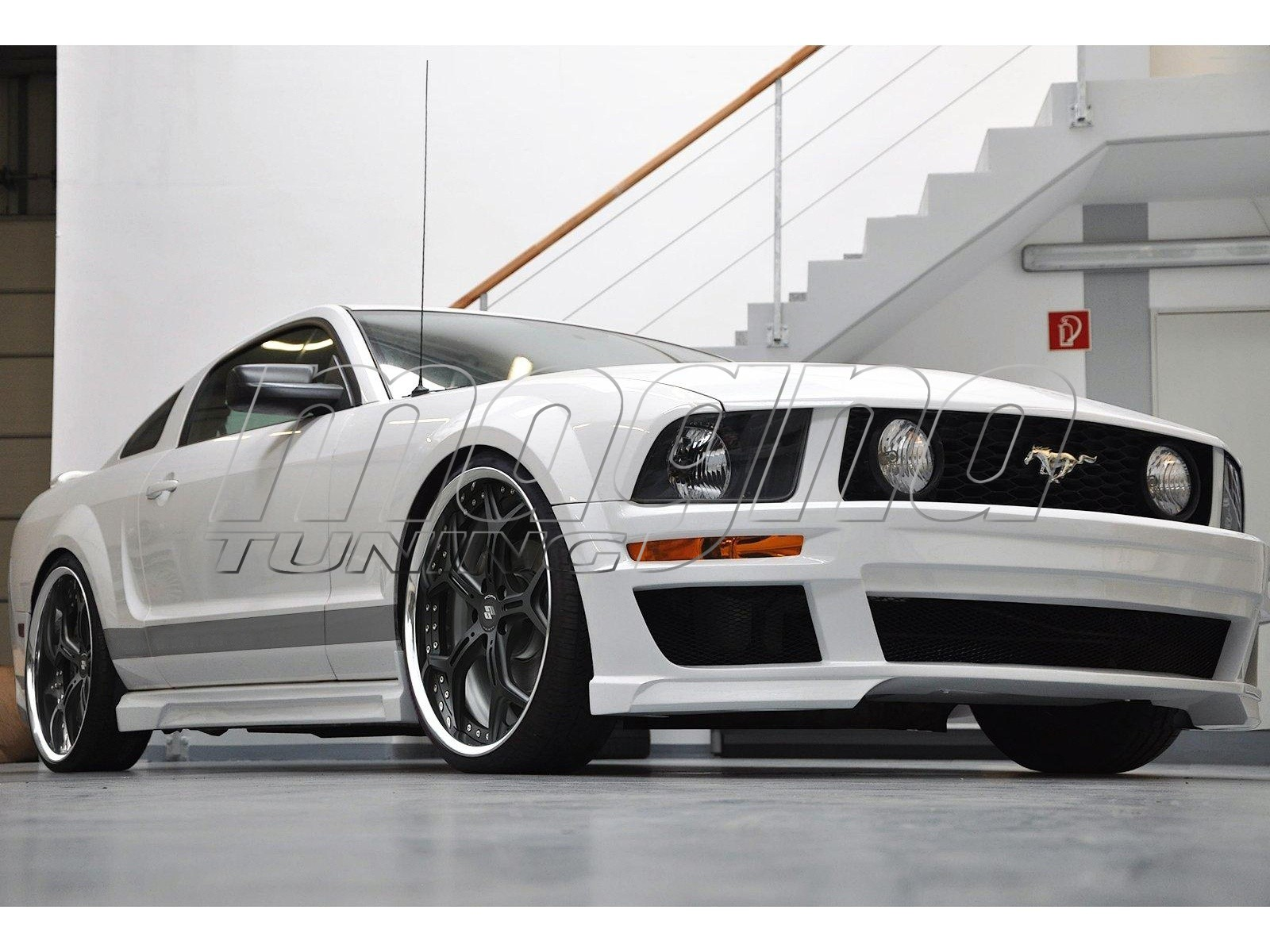 ford mustang exclusive body kit. Black Bedroom Furniture Sets. Home Design Ideas