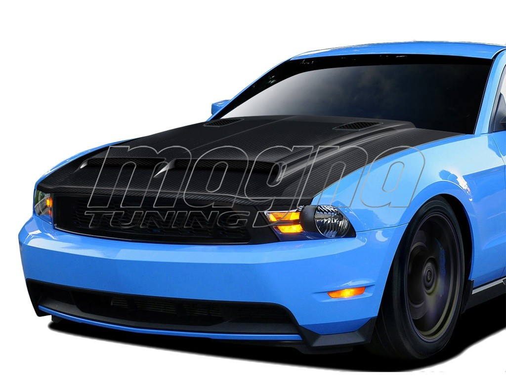 ford mustang gt500 carbon motorhaube. Black Bedroom Furniture Sets. Home Design Ideas