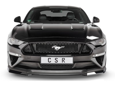 Ford Mustang MK6 CX Front Bumper Extension