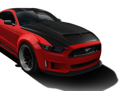 Ford Mustang MK6 Capota GT-Line Fibra De Carbon