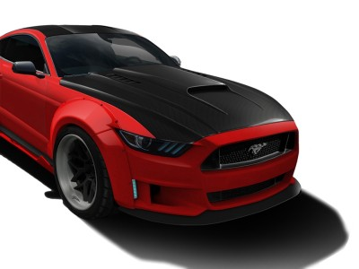 Ford Mustang MK6 Cosmos Carbon Fiber Hood