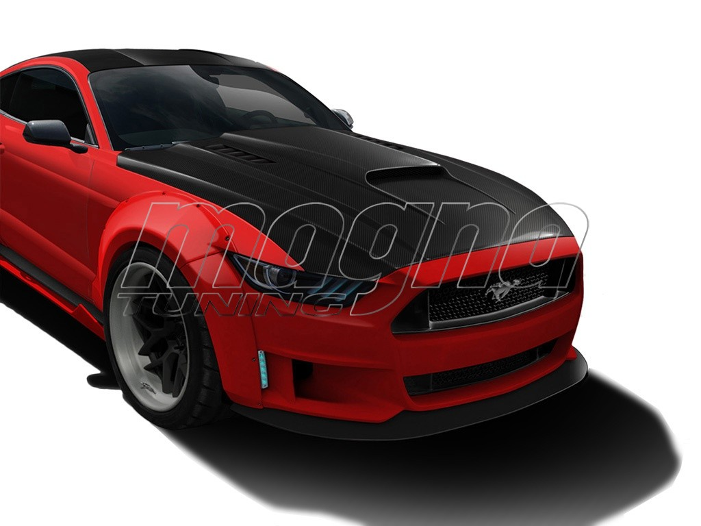 ford mustang mk6 cosmos carbon motorhaube. Black Bedroom Furniture Sets. Home Design Ideas