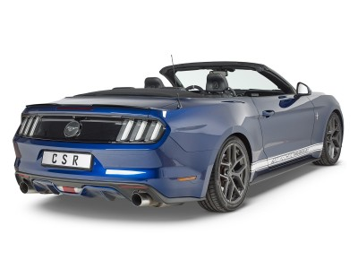 Ford Mustang MK6 Cyber Rear Wing Extension