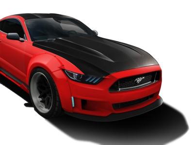 Ford Mustang MK6 Drag Carbon Motorhaube