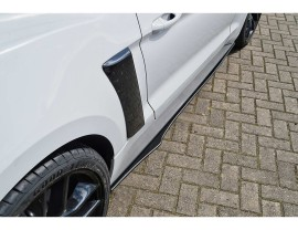 Ford Mustang MK6 GT Intenso Side Skirt Extensions