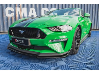 Ford Mustang MK6 GT Master2 Front Bumper Extension