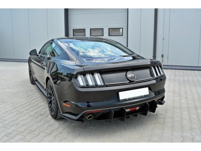 Ford Mustang MK6 GT RaceLine Rear Bumper Extension