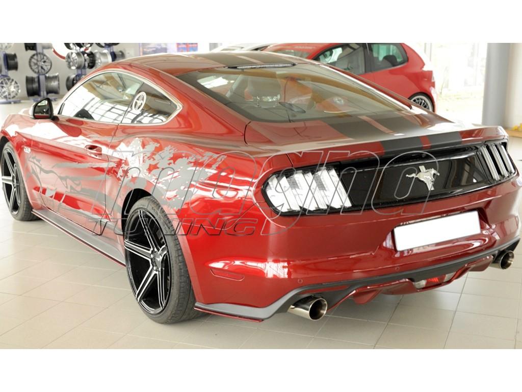 Ford Mustang MK6 GT Razor Rear Bumper Extensions