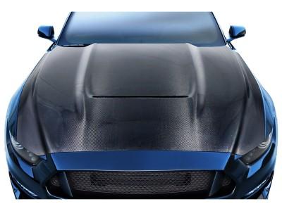 Ford Mustang MK6 GT350-Look Carbon Motorhaube