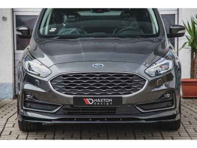 Ford S-Max 2 Facelift MX Front Bumper Extension