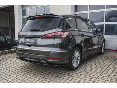 Ford S-Max 2 Facelift MX Rear Bumper Extension