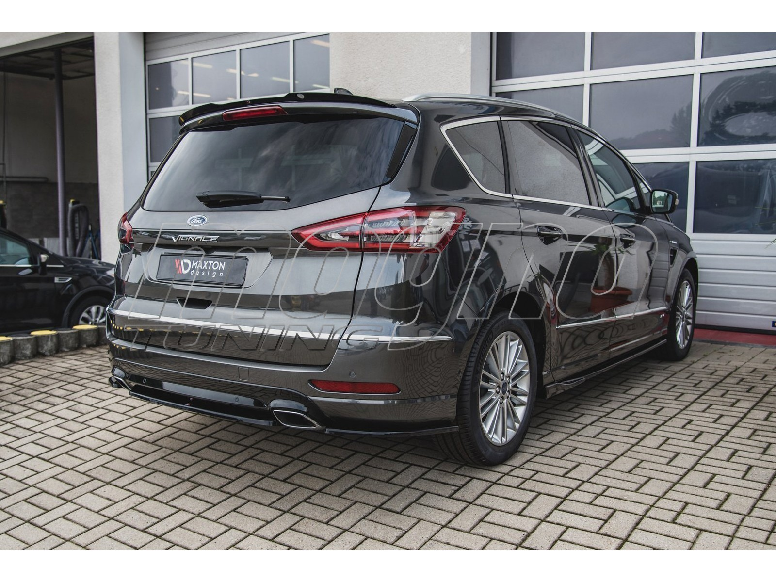Ford S-Max 2 Facelift MX Rear Wing Extension