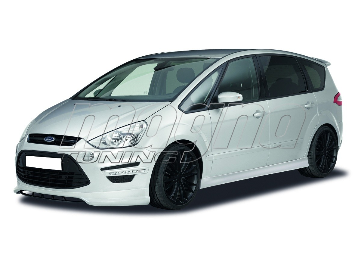 ford s max crono front bumper extension. Black Bedroom Furniture Sets. Home Design Ideas