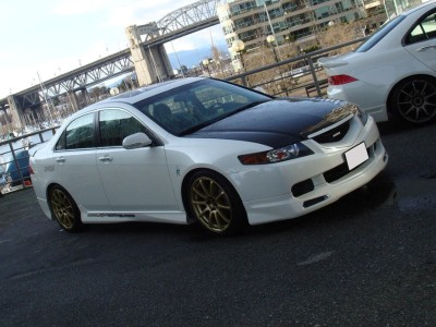 Honda Accord MK7 Mugen-Style Front Bumper Extension