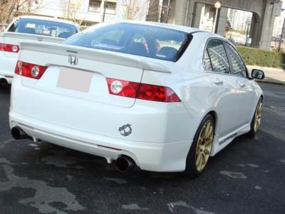 Honda Accord MK7 Mugen-Style Rear Bumper Extension