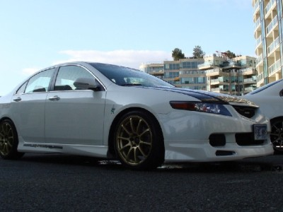 Honda Accord MK7 Mugen-Style Side Skirts