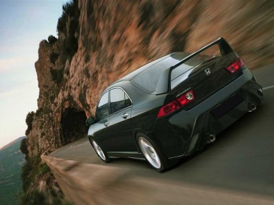 Honda Accord MK7 Sedan Alterno Seitenschwellern