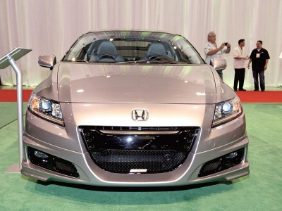 Honda CR-Z Mugen-Look Front Bumper Extension