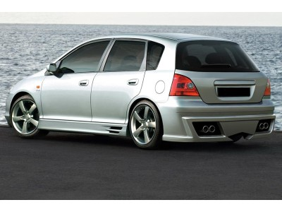 Honda Civic 01-05 Aggressive Rear Bumper