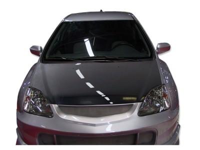 Honda Civic 01-05 Capota OEM Fibra De Carbon